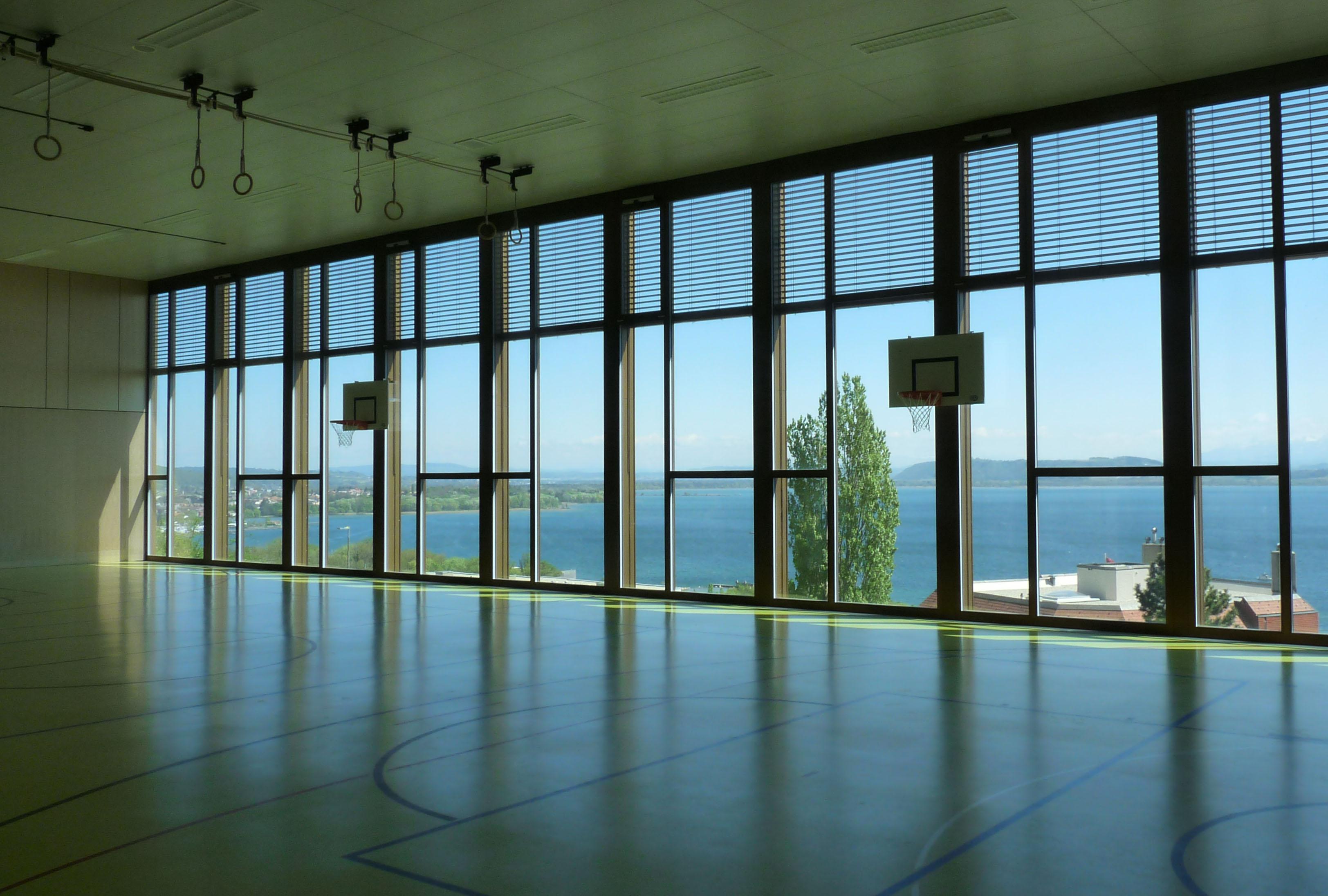 niveau -4_salle de gym_vue sud